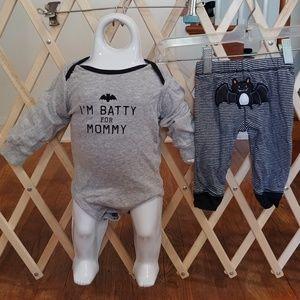Carter's 9 months boys Halloween outfit